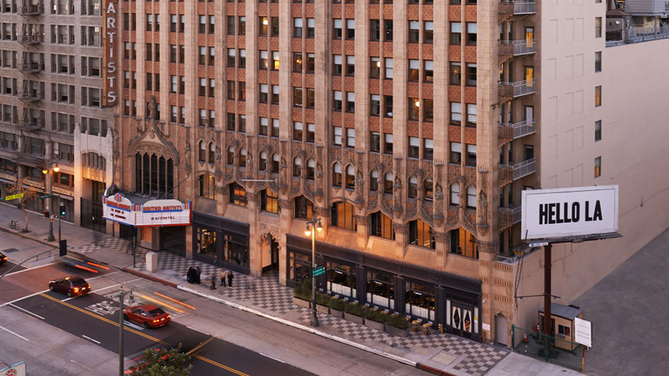 Ace Hotel Bets On Downtown La